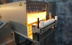IR Industrial Heater Feeding End
